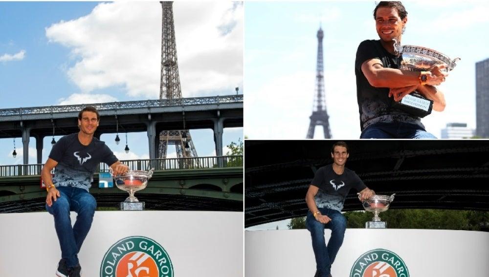 Nadal pase su décimo Roland Garros por el Sena