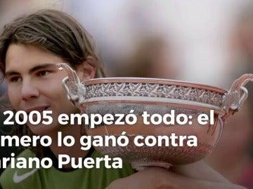 Frame 9.07175 de: Rafa Nadal, el Rey de París: los diez Roland Garros del tenista español