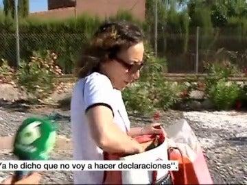 Noelia de Mingo, preguntada por un equipo de laSexta