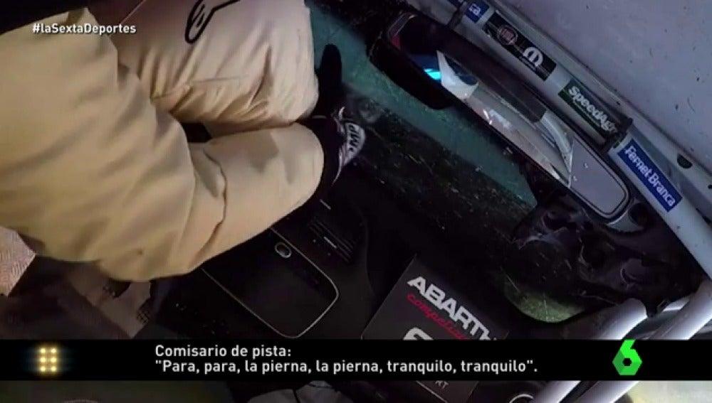 Frame 45.311819 de: El brutal accidente de Luis Castelli visto desde dentro