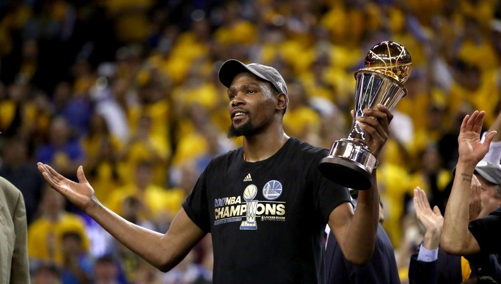 Kevin Durant, MVP de la final de la NBA