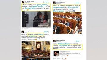 Ana Vázquez Blanco ha borrado tres de estos cuatros tuits sobre Irene Montero