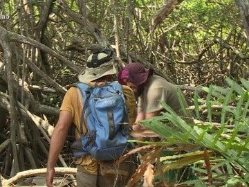 Juanma y Manuel en La Isla