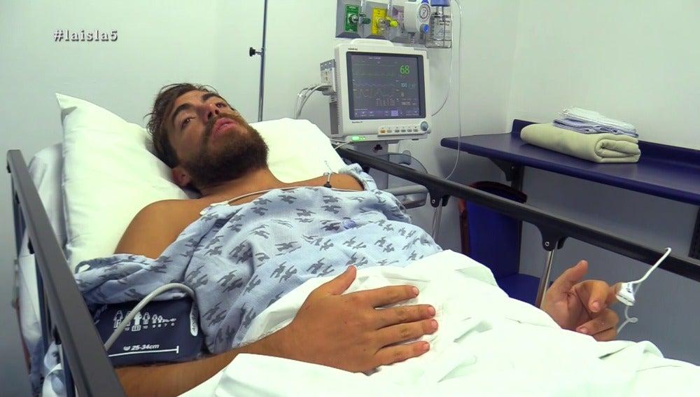 Juan en el hospital