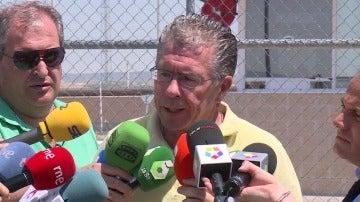 Francisco Granados, a su salida de prisión