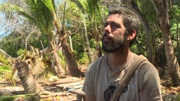 Iker en La Isla