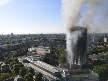 Las llamas arrasaron con la Torre Grenfell