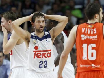 Llull lamenta la derrota ante el Valencia Basket