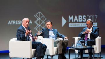 Vicente del Bosque, en el MABS2017