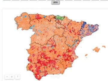 Así hemos votado los españoles