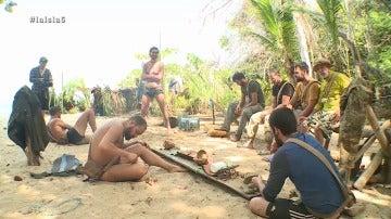 Fernando e Iker discuten en La Isla