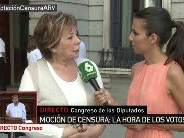 Celia Villalobos con Ana Pastor