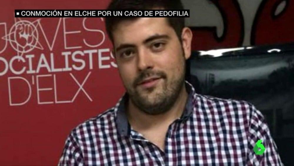 Alejandro Díaz, exlíder de las Juventudes Socialistas de Elche