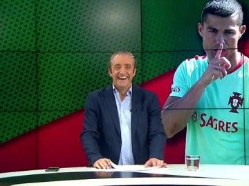 Josep Pedrerol, durante el programa Jugones