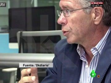 Francisco Granados, durante la entrevista