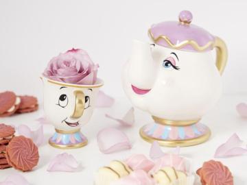 La taza Dip y la tetera señora Potts
