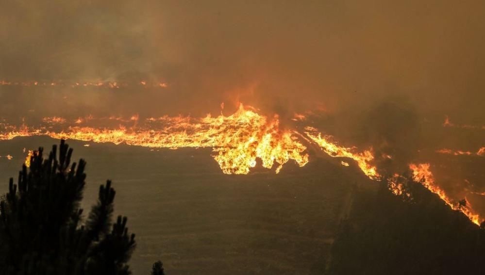 Trágico incendio de Pedrógão Grande, en Portugal