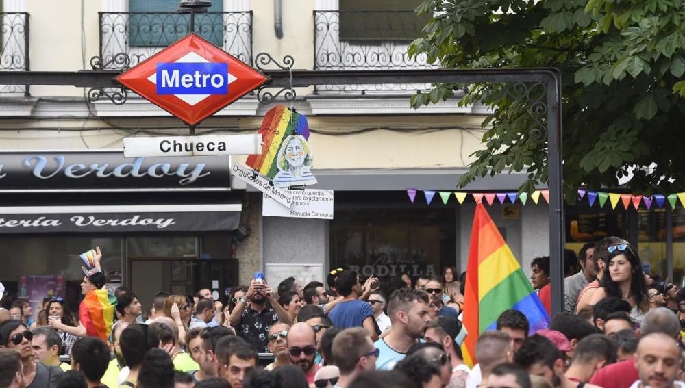 Plaza de Chueca, Madrid