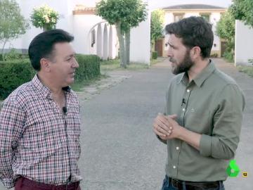 Gonzo con Germán Florindo