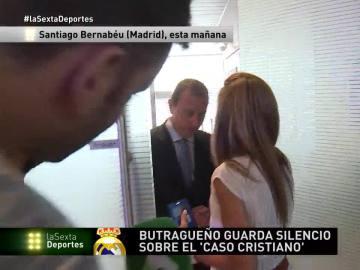 Emilio Butragueño elude las preguntas