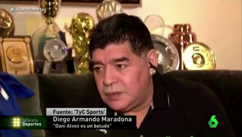 """Maradona carga contra Sampaoli: """"No fue buen jugador y no es buen pensante"""""""