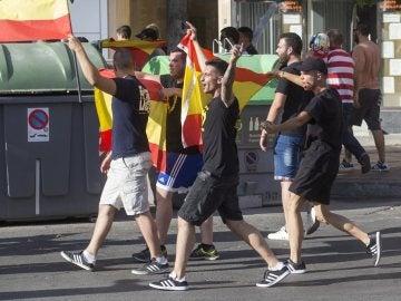Atacan a un grupo de manifestantes en Murcia