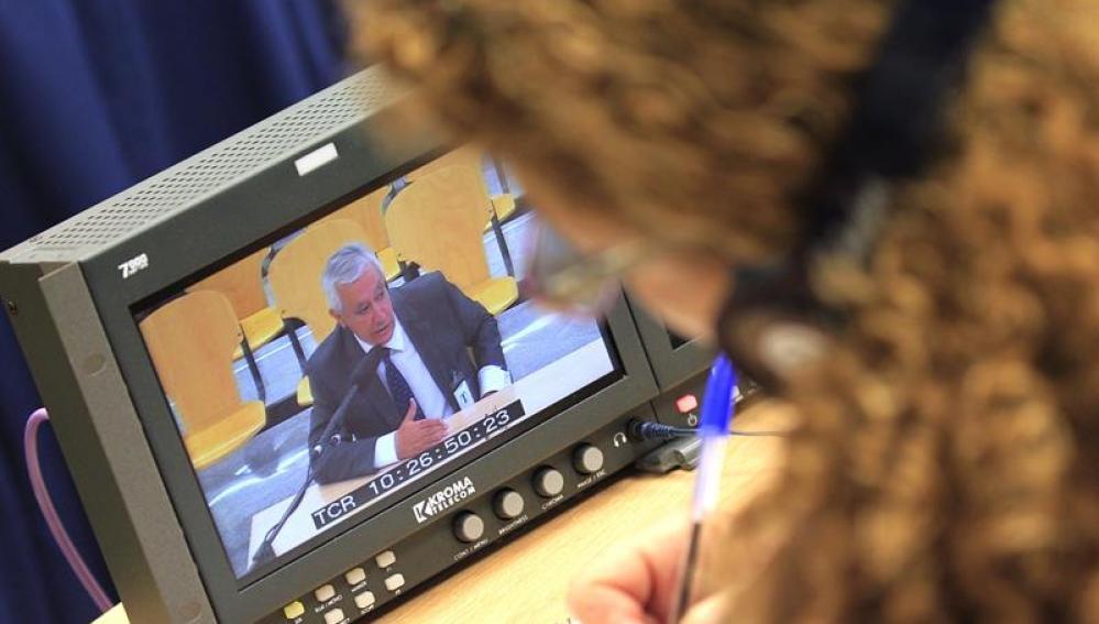 Javier Arenas declara en el juicio de la Gürtel