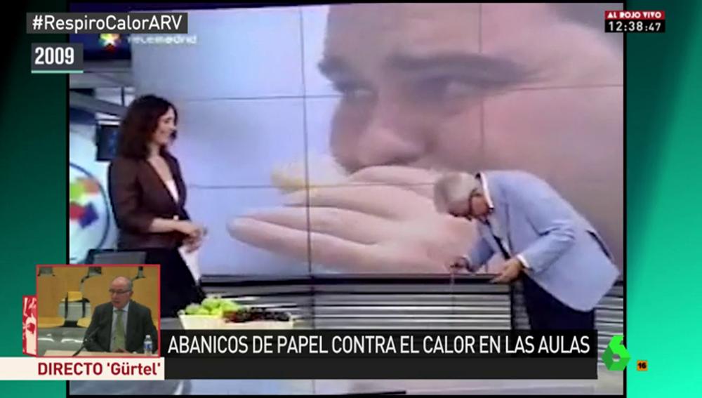 Sánchez Martos, en un programa de televisión