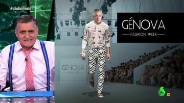 Génova, fashion week en El Intermedio