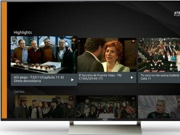 Atresplayer, ya disponible en los televisores con sistema operativo Android TV