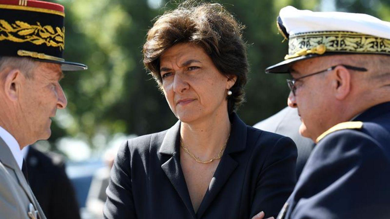 La ministra de Defensa gala, Sylvie Goulard