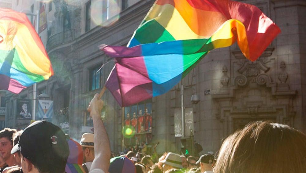 Manifestación LGTBI en Madrid