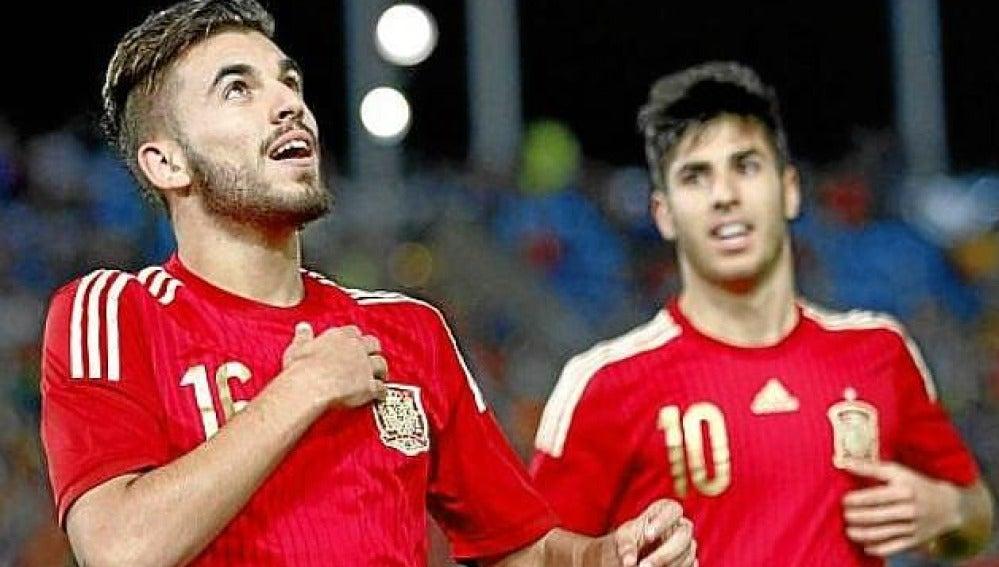 El centrocampista de la Rojita, Dani Ceballos.
