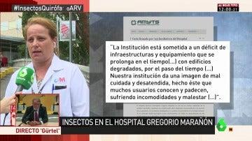Susana Vázquez, médico del Gregorio Marañón