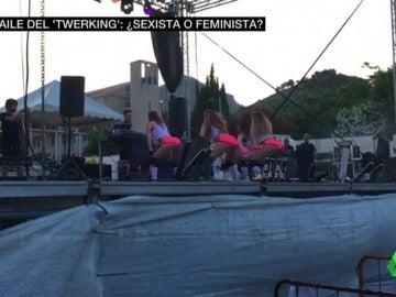 """Indignación por el espectáculo de 'twerking' de las fiestas de Fogueres en Xàbia: el baile tachado de """"sexista"""" e """"inadecuado"""""""