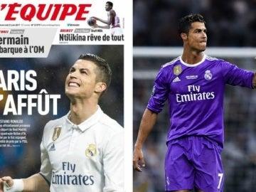 Cristiano Ronaldo, objetivo del PSG