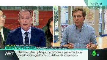 Martínez Almeida en Más Vale Tarde