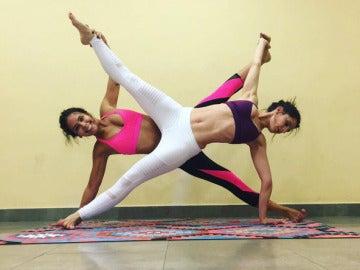 Cristina Pedroche practicando Yoga
