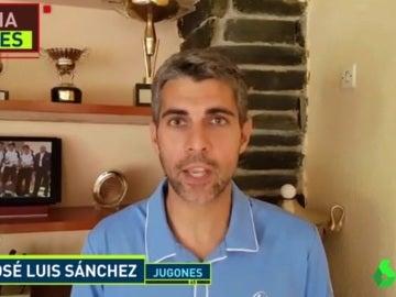 José Luis Sánchez, periodista de Jugones