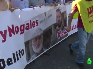 Sindicalistas para los que piden penas de prisión