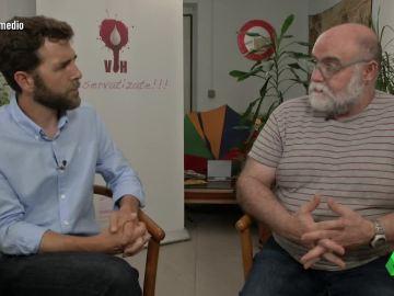 Gonzo y Fernando Armenteros