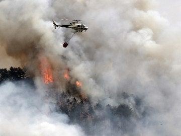 Incendio declarado en Arazuri