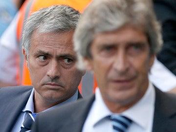 Mourinho, detrás de Pellegrini