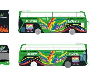 El autobús de laSexta en el World Pride Madrid 2017