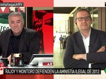 Carlos Cruzado, durante su entrevista en Al Rojo Vivo
