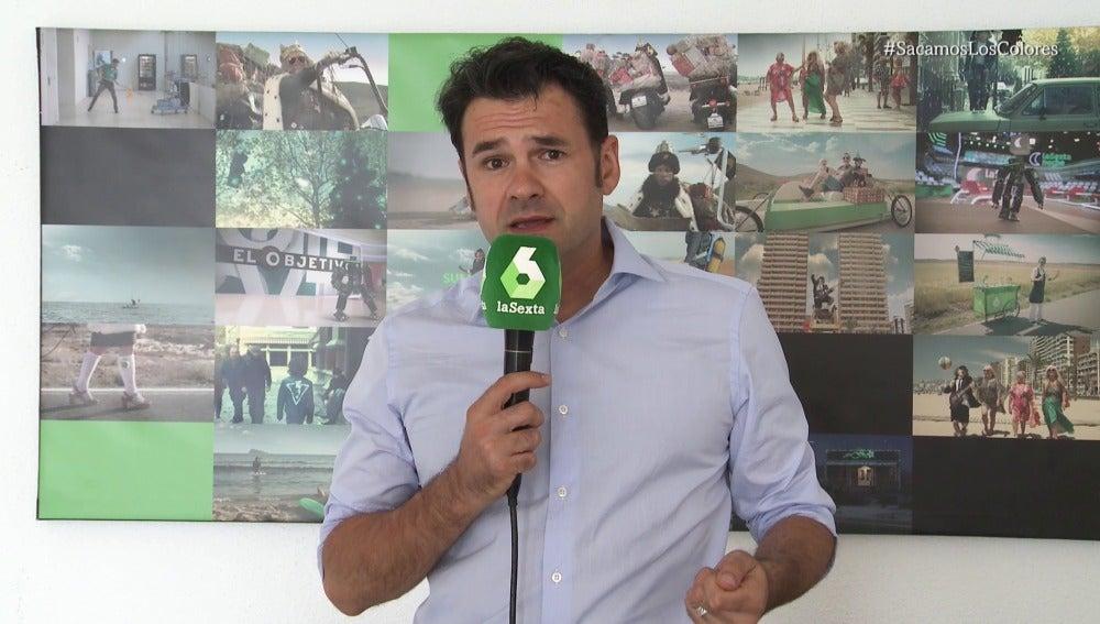 Iñaki López, con el Orgullo