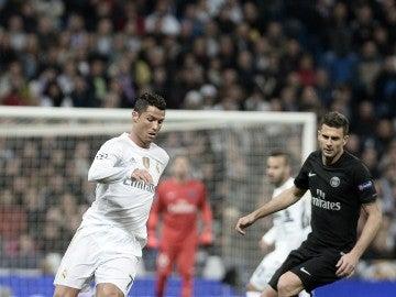 Cristiano Ronaldo, durante un partido contra el PSG