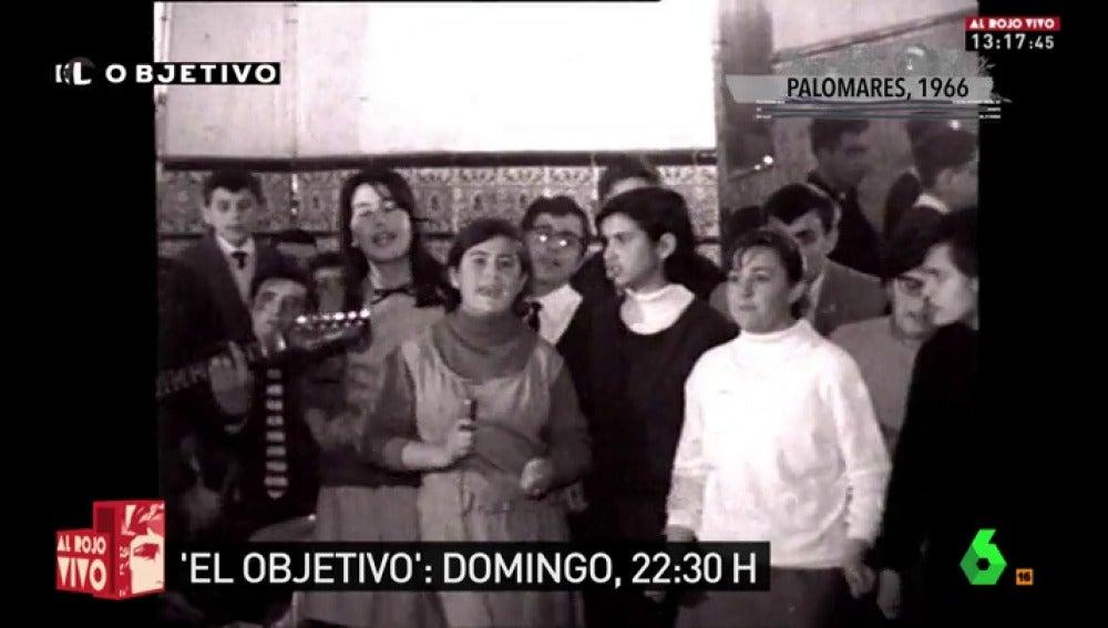 Niños de Palomares en 1966