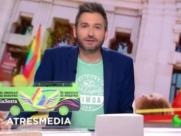 Zapeando celebra el World Pride 2017 con la mini-caravana LGTBI de laSexta