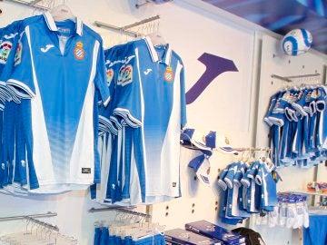 Las nuevas camisetas del Espanyol